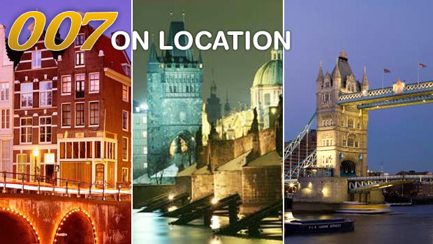 007 James Bond filming stag locations