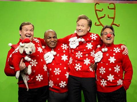 mike tyson christmas jumper
