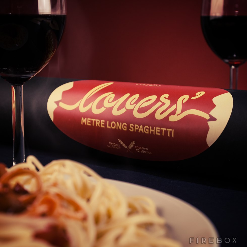 Lovers spaghetti