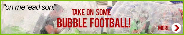 bubble football activity