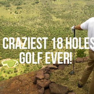 Insane golf courses around the world