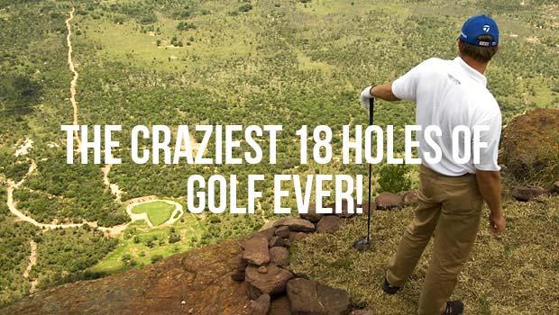 Insane golf courses around the world