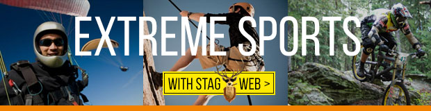 Extreme sports with StagWeb