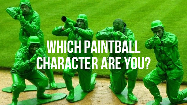 Paintball characters
