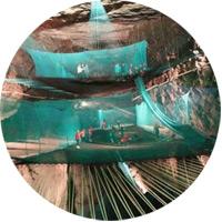 underground trampoline
