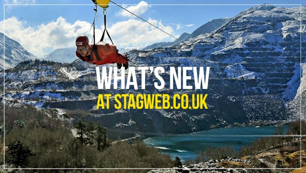 What's new at StagWeb
