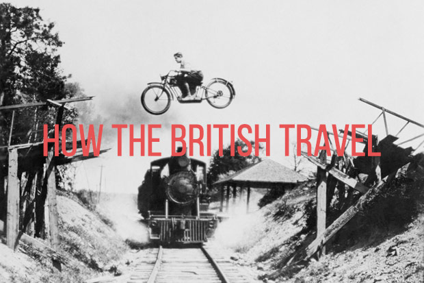 how the british travel