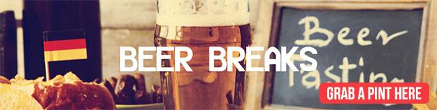 beer breaks
