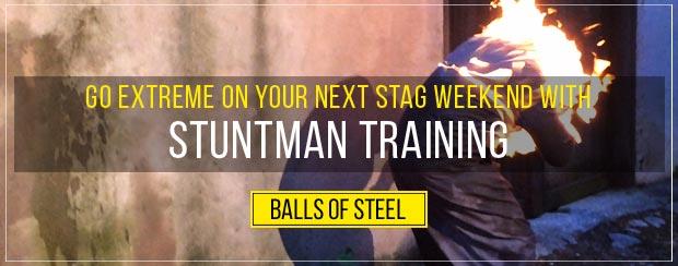 stuntman training