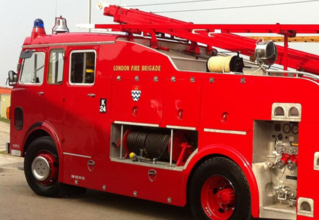classic fire engine