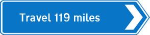119 miles