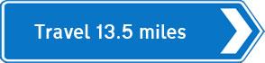 13.5 miles