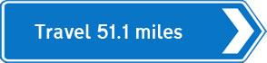 51.1 miles