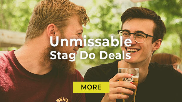 unmissable stag do deals