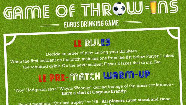 euros drinking game