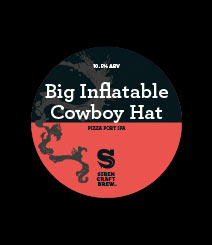 the big inflatable cowboy hat