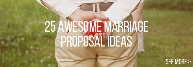25 awesome marriage proposal ideas