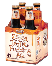 sticky toffee pudding ale