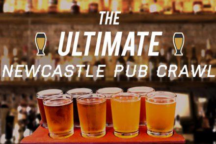 newcastle pub crawl