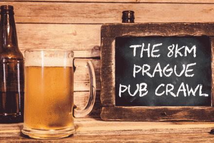 prague beer banner