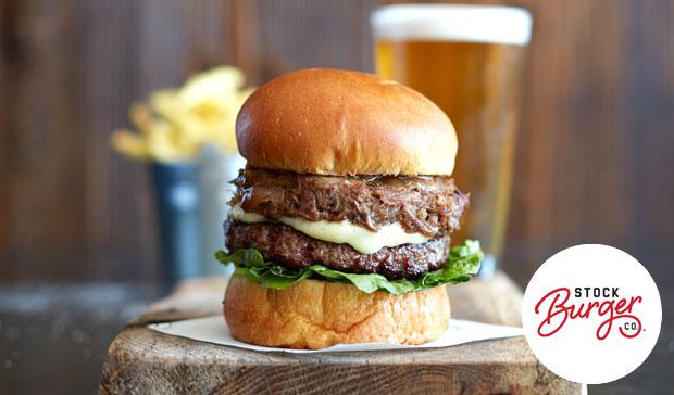 stock burger
