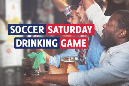 Soccer Saturday Drinking Game