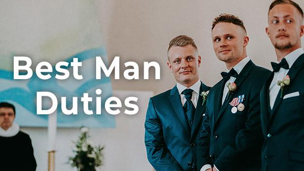 best man duties