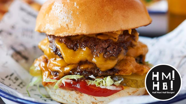 half man half burger