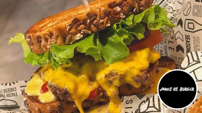 james vs burger