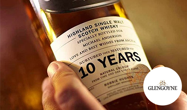 Personalised GlenGoyne Whisky - Glengoyne