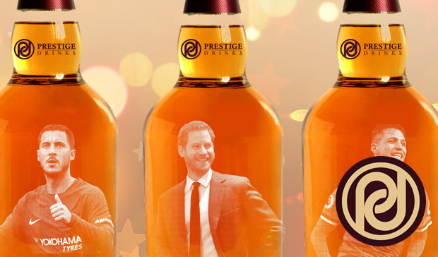 Personalised Spirits - Prestige Drinks