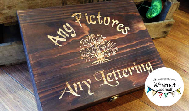 Wooden Box - Whatnot Wood Craft