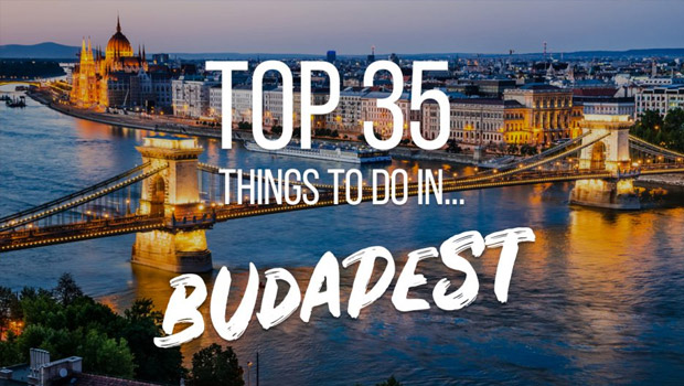 35 things to do Budapest