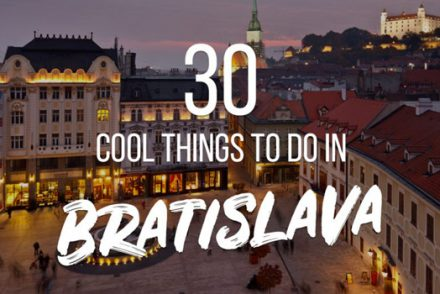 30 cool things to do bratislava