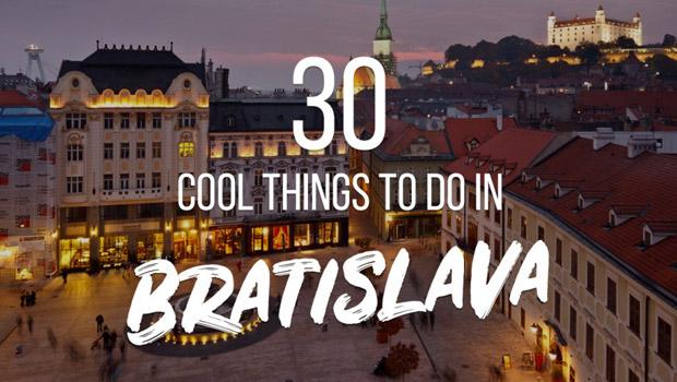 30 cool things to do bratislava