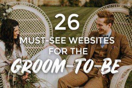 26 Websites for the Groom