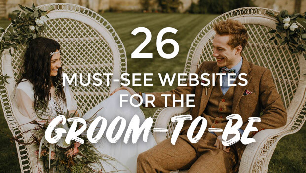 26 Websites for the Groom