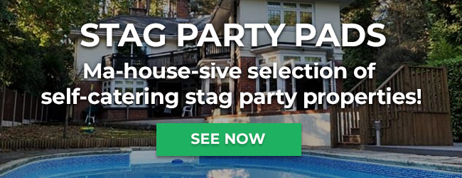 Stag Party Pads Ma-house-sive selection of self-catering stag party properties!