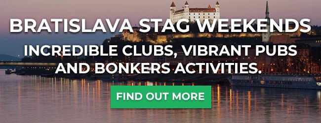 Bratislava stag weekends