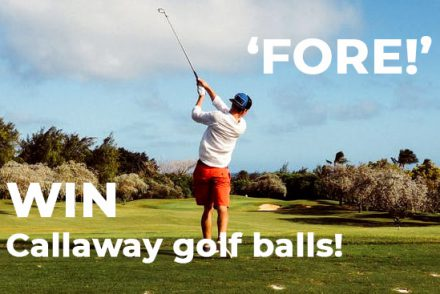 Win some golf balls