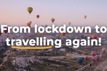 from lockdown to travelling again