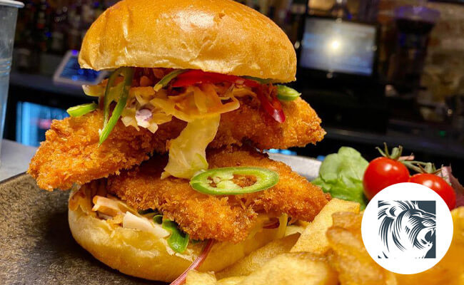 Lyons' Den Gourmet Burger