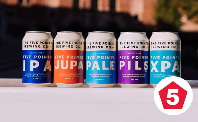five points brewing