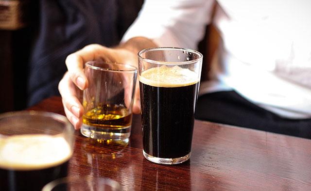 Glasgow pub pints