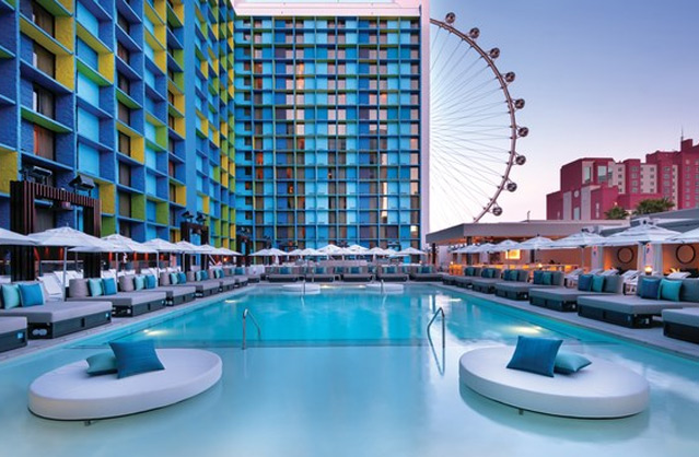 The LINQ Hotel & Casino in Las Vegas