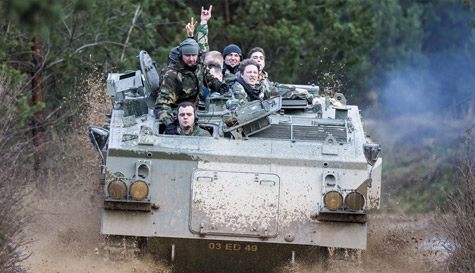 airsoft battle & tank ride