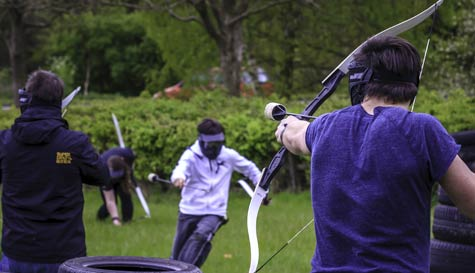 battle archery tag