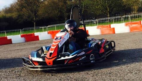 battle karts in  stag party activity 1