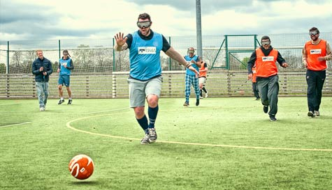 goggle football in  stag party activity 1