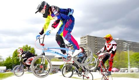 BMX racing in london stag party activity 1